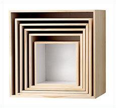 Bloomingville Storage Boxes Nature/White