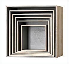 Bloomingville Aufbewahrungskisten Holz / Grau