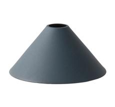 ferm LIVING Lampenschirm COLLECT Cone Dark Blue