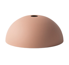 ferm LIVING Lampenschirm COLLECT Dome Rose
