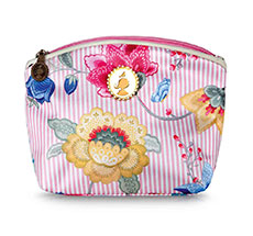 PIP Studio Kleine Kosmetiktasche Fantasy & Bloomingtales Pink