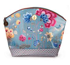 PIP Studio Kosmetiktasche Medium Fantasy & Bloomingtales Blue