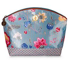 PIP Studio Große Kosmetiktasche Fantasy & Bloomingtales Blue