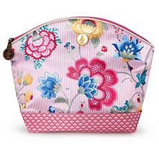PIP Studio Große Kosmetiktasche Fantasy & Bloomingtales Pink