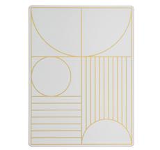ferm LIVING Platzset Outline Off-white