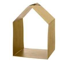 Bloomingville Deko-Regal Haus Brushed Gold