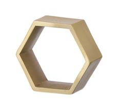 ferm LIVING Hexagon Serviettenringe 4er Set