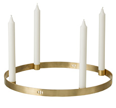 "ferm LIVING Kerzenhalter Advent ""Circle"""