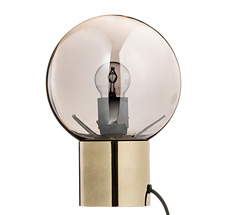 Bloomingville Tischlampe Gold Finish/Silver/Black