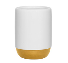 Bloomingville Becher White/Gold