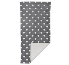 Bloomingville Teppich Cool Grey/Dots