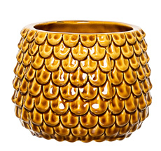 Bloomingville Blumenvase Curry
