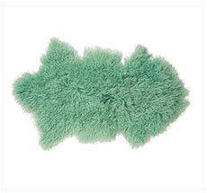 Bloomingville Mongolisches Lammfell Green