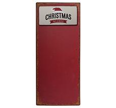 "IB LAURSEN Metallschild mit Magnet ""Christmas Wishes"""