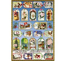 Spiegelburg Adventskalender-Zahlen-Sticker