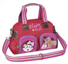 Spiegelburg Citybag Olivia & Fifi rot