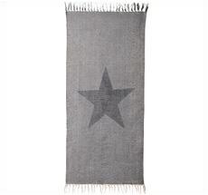 Bloomingville Teppich Star Grey