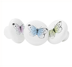 Miss Étoile Keramikknauf Butterfly