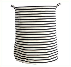 "House Doctor Laundry Basket ""Stripes"""