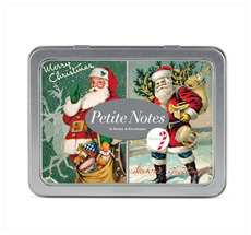 Cavallini Petite Notes Christmas Santa