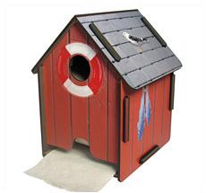 Werkhaus ToPa-Haus Bootshaus Rot