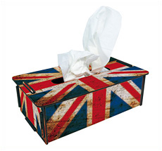 Werkhaus Tissue-Box Union Jack