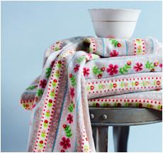 Pip Studio Handtücher Cute Ribbon Khaki