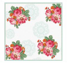 Room Seven Papierservietten Rosy Rose