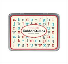 Cavallini Stempelset Alphabet Kleinbuchstaben