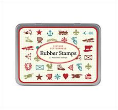 Cavallini Stempelset Vintage Letterpress