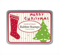 Cavallini kleines Stempelset Vintage Christmas