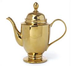 Miss Étoile Große Teekanne Gold