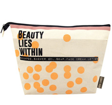 "Disaster Designs Kulturbeutel Arm Candy ""Beauty Lies Within"""