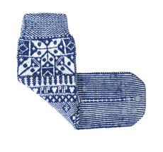 PIP Studio Haus-Socken Anna Pipska Blue