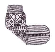 PIP Studio Haus-Socken Anna Pipska Brown