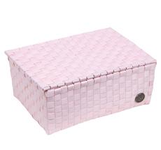 Handed By Udine Korb mit Deckel Powder Pink
