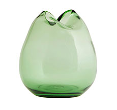 House Doctor Vase Wave Grün