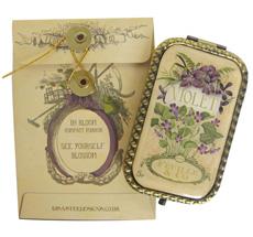 Disaster Designs Schminkspiegel In Bloom Violet