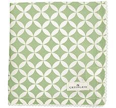 GreenGate Stoff-Serviette Mai Green 40x40