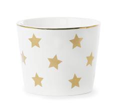 Miss Étoile Schale Stars Weiß/Gold