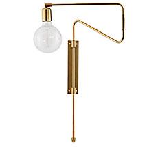 House Doctor Wandlampe Swing Messing