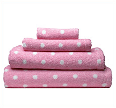 Cath Kidston Towel Large Spot Pink