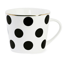 Miss Étoile Kaffeebecher Big Black Dots