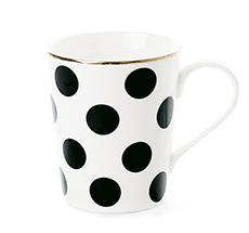 Miss Étoile Kaffeetasse Big Black Dots