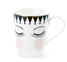 "Miss Étoile Kaffeetasse ""Eyes and Dots"""