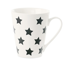 Miss Étoile Kaffeetasse Stars Schwarz