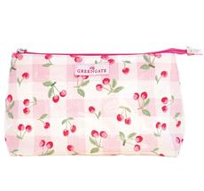 GreenGate Kosmetiktasche Cherry Pale Pink Groß