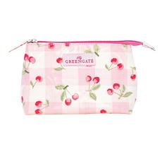 GreenGate Kosmetiktasche Cherry Pale Pink Klein