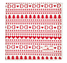 GreenGate Stoff-Serviette December Red