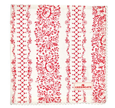 GreenGate Stoff-Serviette Jenny Red